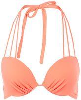 Topshop Multi strap plunge bikini top