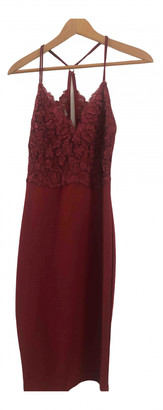 River Island Red Lace Dress for Women