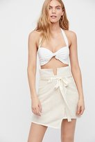 For Love & Lemons Andi Mini Skirt by at Free People