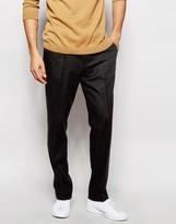 Asos Slim Smart Pants In Wool Blend