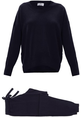 Allude Cashmere Lounge Set - Navy