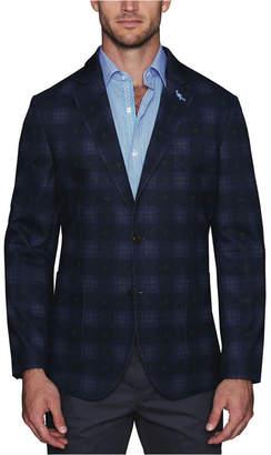 Tailorbyrd Men Stretch Jersey Knit Printed Sport Coat