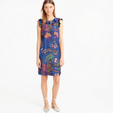 J.Crew Tall ruffle dress in tropical floral