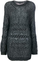 Ermanno Scervino cable-knit sweater