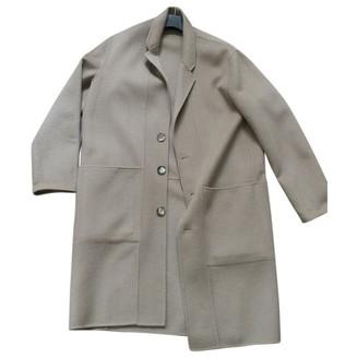 Etudes Studio Beige Wool Coats