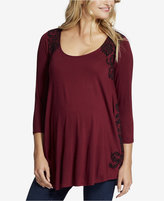Jessica Simpson Maternity Printed Top