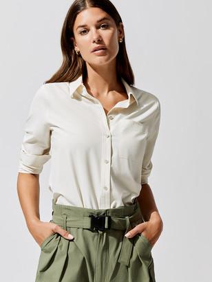 Carbon38 Long Sleeve Button Up Shirt