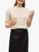 Thumbnail for your product : MANGO Faux Leather Pencil Midi Skirt, Black