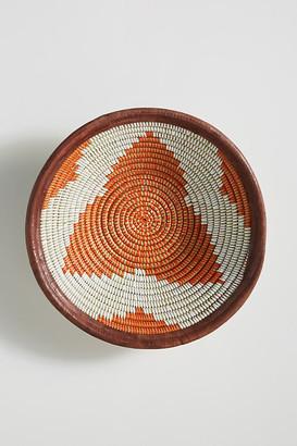 Anthropologie Fele Hanging Basket By in Orange Size S
