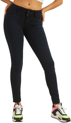 GUESS Power Anke Skinny Jeans