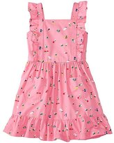 Girls Pinafore Pocket Dress