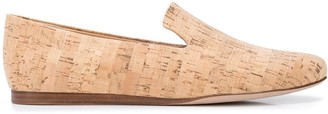 Veronica Beard Griffin flat cork loafers