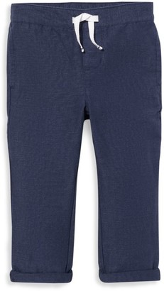 Janie and Jack Little Boy's & Boy's Linen Drawstring Pants