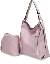 Mkf Collection By Mia K. MKF Collection by Mia K. Women's Coin Purses Lavender - Lavender Tassel Hobo & Pouch