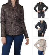 Journee Collection Junior's Quilted Trench Jacket