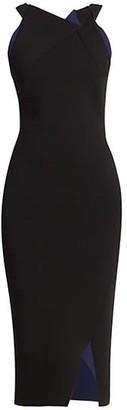 Roland Mouret Klint Sleeveless Knit Bodycon Dress