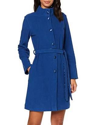 Lovable Women's Bluette Dressing Gown Blue 00r, (Size: S/M)