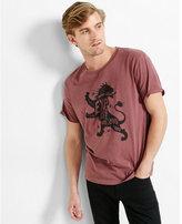 Express EXP lion graphic t-shirt