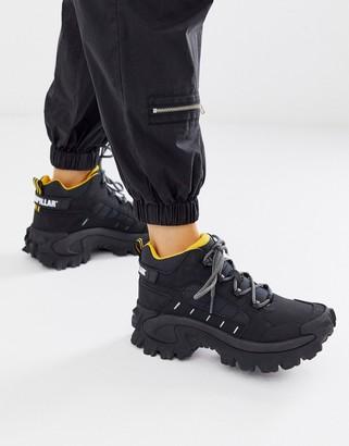 CAT Footwear CAT Resistor hi top hiker hybrid trainers in black