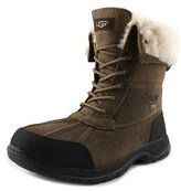 UGG Butte Men Round Toe Synthetic Brown Snow Boot.