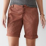 SONOMA Goods for Life Women's SONOMA Goods for LifeTM Chino Bermuda Shorts