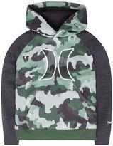 Hurley Boys 4-7 Fleece-Lined Camouflage Space-Dyed Hoodie