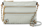Elliott Lucca Bali &89 Woven Leather Crossbody