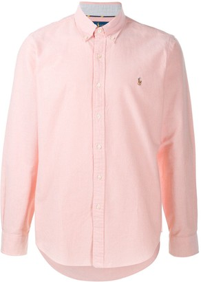 Polo Ralph Lauren Logo-Embroidered Button Down Shirt