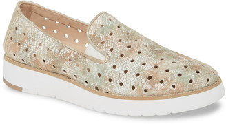Johnston & Murphy Penelope Perforated Slip-On Sneaker
