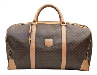 Celine Brown Suede Travel bags