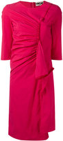 Hache gathered front dress