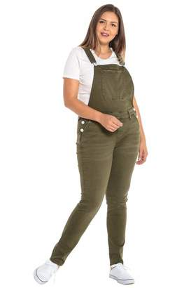 SLINK Jeans The Overall Pants in Ivy Size 18