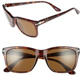 Persol Men's 50Mm Polarized Sunglasses - Black