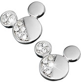 Disney Mickey Mouse Icon Half Crystal Earrings by Arribas
