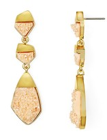 BaubleBar Druzy Drop Earrings