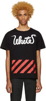 Off-White Black White Patchwork T-Shirt
