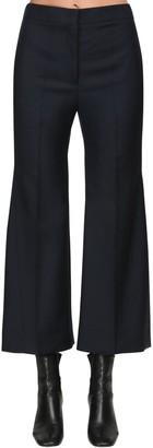 Jil Sander Virgin Wool & Mohair Gabardine Pants