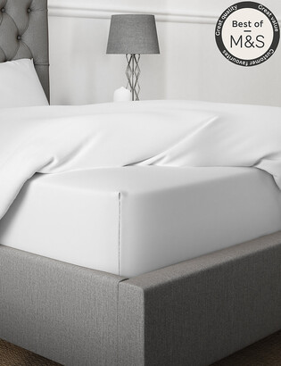 Marks and Spencer Egyptian Cotton 230 Thread Count Extra Deep Fitted Sheet