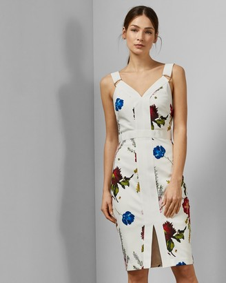 Ted Baker AMYLIA Berry Sundae bodycon dress