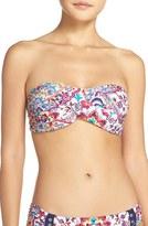 Nanette Lepore Women's 'Festival Tease' Bandeau Bikini Top
