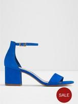 Aldo Villarosa Two Part Block Heel Sandal