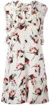 Marni ruffle printed dress