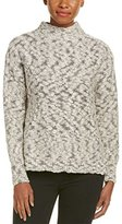 women's cotton cable turtleneck sweater - ShopStyle