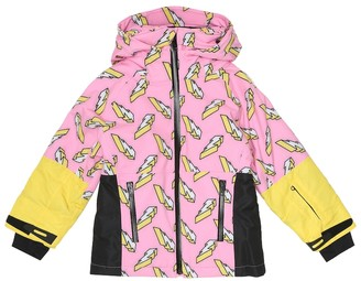 Stella McCartney Kids Printed ski jacket