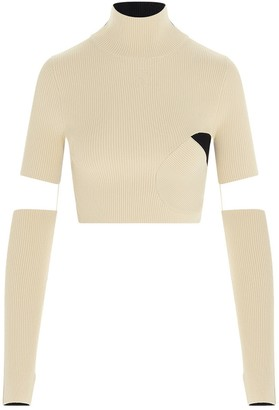 Off-White Front 'N' Back Knitted Top