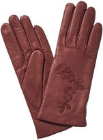 Portolano Leather Cashmere Lined Gloves