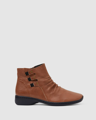 Easy Steps - Women's Brown Ankle Boots - Valiant - Size One Size, 37 at The Iconic