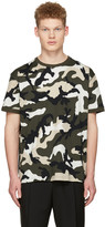 Valentino Green New Camo T-shirt