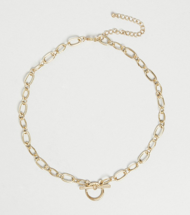 Thumbnail for your product : New Look Diamante Embellished Pendant Necklace