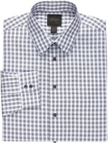 Jos. A. Bank New! Joseph Slim Fit Spread Collar Cotton Large Gingham Dress Shirt